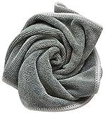 Sinland Mikrofasertücher Reinigungstücher fusselfreien Tuch Küchenputztuch 30x30cm Paket-6 Slate Grey - 3