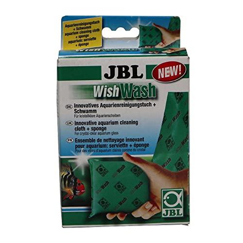 JBL Reinigungstuch und Schwamm für Aquarien und Terrarien, Wish Wash 61526
