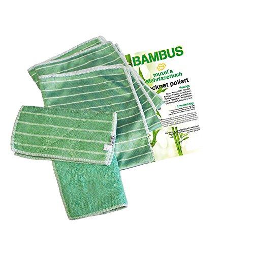 Muxel´s Reinigung Bambus Tuch Set Putzlappen - 2