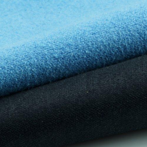Mikrofaser-Reinigungstücher – 5 Stück Packung mit Doppelseitigen Reinigungstüchern (6,6 Zoll x 6,2 Zoll) – Mikrofaser und velour Tuch für die Reinigung von Handys, LCD-TV, Laptop-Bildschirme, Kameraobjektive, Tablets, Besteck, Gläser, Uhren und anderen empfindlichen Oberflächen (Schwarze Seite: Microfaser / Blaue Seite: velour) - 7