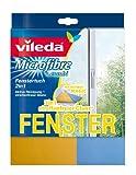 Vileda 419 Fenstertuch Combi - 2in1 Reinigung - reinigen & trocknen mit nur einem Tuch - 1er Pack