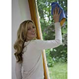 Vileda 419 Fenstertuch Combi – 2in1 Reinigung – reinigen & trocknen mit nur einem Tuch – 1er Pack - 3