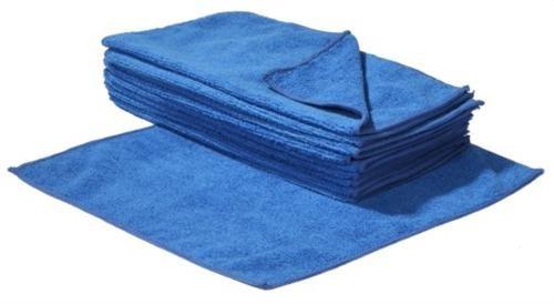 SBS Mikrofaser-Reinigungstücher - 40 x 40 cm - Blau - 10 Stück