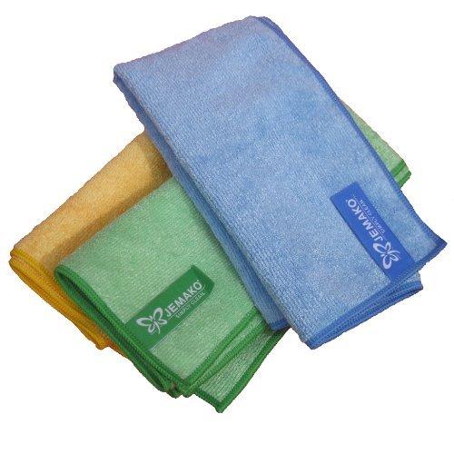 Jemako Profitücher 3er Set in gelb, grün und blau