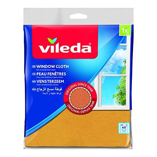 Vileda Fenstertuch, der KLASSIKER  für strahlende Fenster, 5 er Pack