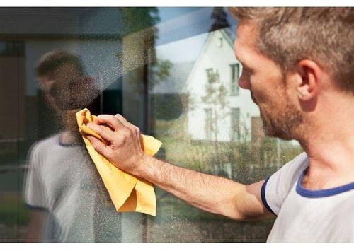 Vileda Fenstertuch, der KLASSIKER  für strahlende Fenster, 5 er Pack - 3