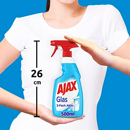 Ajax Glasreiniger 3-fach aktiv 500ml - 6