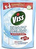Viss Kraft & Glanz Reiniger Nachfüllbeutel Glas & Flächen, 5er Pack (5x 375 ml)