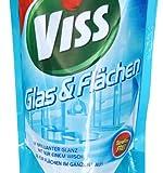 Viss Kraft & Glanz Reiniger Nachfüllbeutel Glas & Flächen, 5er Pack (5x 375 ml) - 2