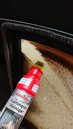 Kaminglas Reiniger, 3 Flaschen á 200ml - 4