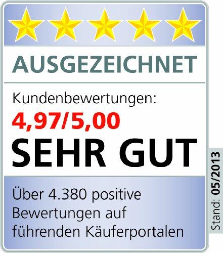ALCLEAR 960008 Profi-Fenster-Set enthält Einwascher und Abziehgummi mit Griff, Ultra-Microfaser Fenstertuch 40 x 45 cm, 3-teilig - 8