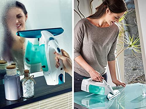 Leifheit 51003 Fenstersauger Dry und Clean mit Stiel/Einwascher, Plastik, weiß, 23 x 10 x 47.5 cm - 4