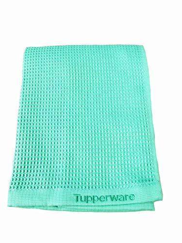 TUPPERWARE FaserPro Glas helles türkis T22 Fenster Mikrofasertuch Glastuch - 2