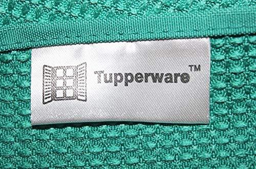 TUPPERWARE FaserPro Glas Blau Fenster Mikrofasertuch T22 Putztuch Glastuch - 2