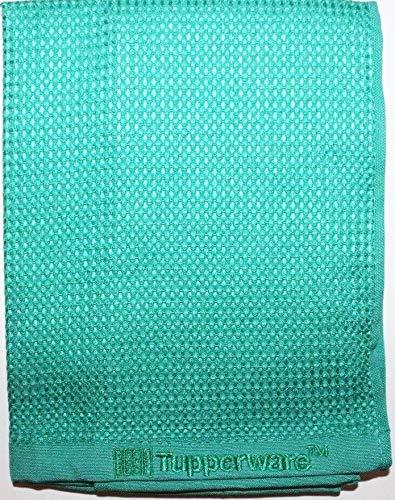 TUPPERWARE FaserPro Glas Blau Fenster Mikrofasertuch T22 Putztuch Glastuch - 4