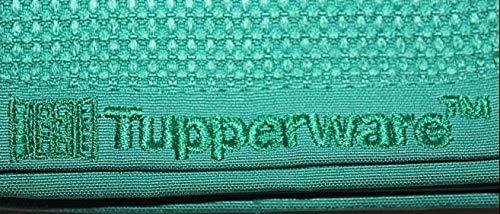 TUPPERWARE FaserPro Glas Blau Fenster Mikrofasertuch T22 Putztuch Glastuch - 5