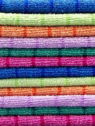 Respekt Mikrofaser Tücher plus, 12tlg. Set in 6 Farben - 3