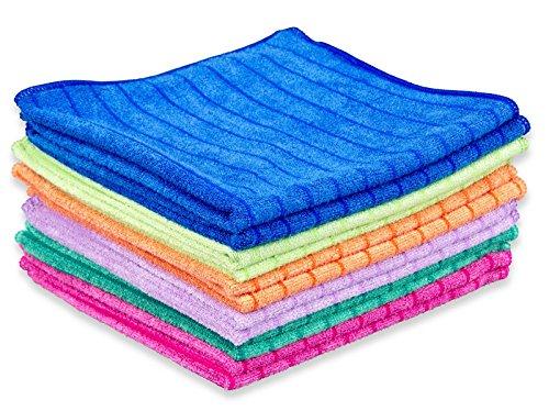 Respekt Mikrofaser Tücher plus, 12tlg. Set in 6 Farben - 5