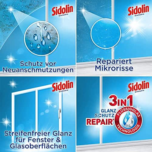 Sidolin Cristal Nachfüllpack, 4er Pack (4 x 250 ml) - 5