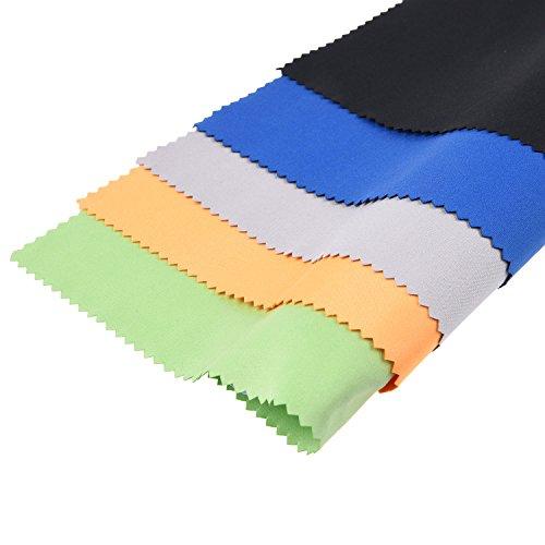 Mikrofaser Reinigungstücher – 5 große bunte Tücher - 3