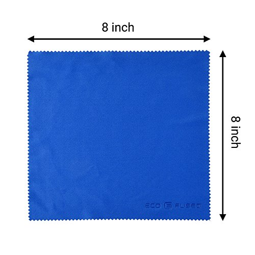 Mikrofaser Reinigungstücher – 5 große bunte Tücher - 7