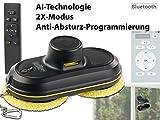 Sichler Profi-Fensterputz-Roboter V4, Bluetooth, App & Fernbed. (Bluetooth Fensterputz Roboter mit Apps) - 2