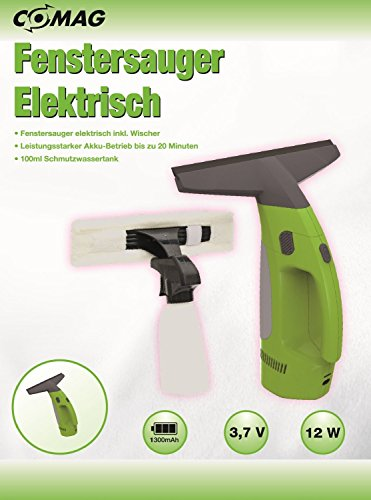 Comag elektrischer Fenstersauger Fensterreiniger - 4