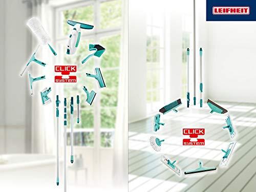 Leifheit 51004 Fenstersauger Dry&Clean mit Saugdüse 17cm Fenstersauger, Plastik, weiß, 23 x 10 x 34 cm - 8