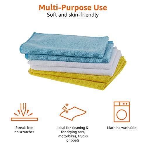 AmazonBasics Mikrofaser-Reinigungstücher, 48 Stück - 3